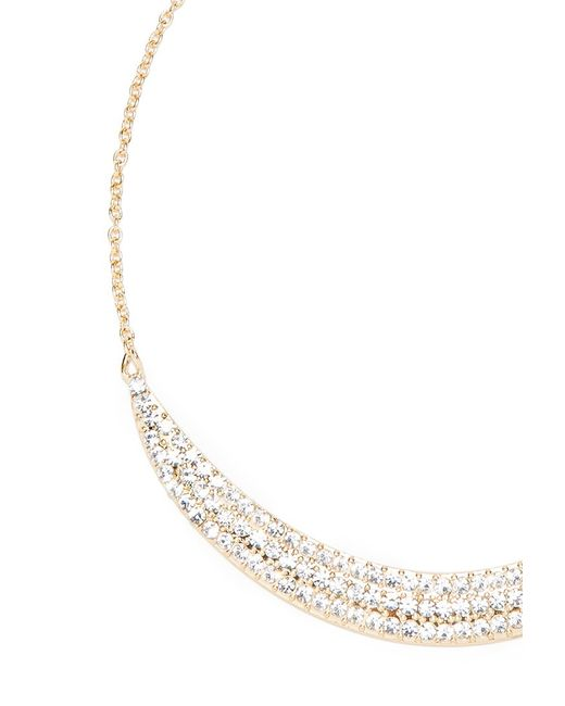 Forever 21 | Metallic Rhinestone Bib Necklace | Lyst