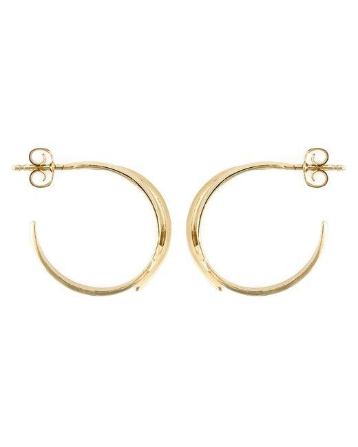 Wouters & Hendrix | Metallic 'bamboo' Hoop Earrings | Lyst