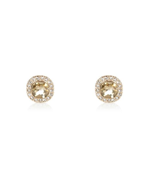 River Island | Metallic Gold Tone Sparkle Stud Earrings | Lyst