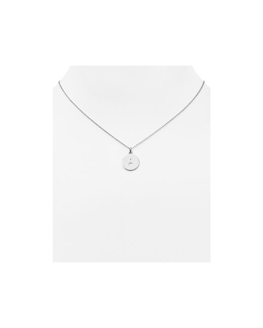 Kate Spade | Metallic One In A Million Initial Pendant Necklace, 18"