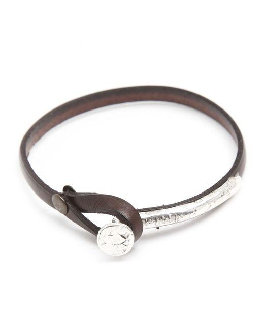 Gilbert Gilbert   Jos 12 Black Bracelet for Men   Lyst