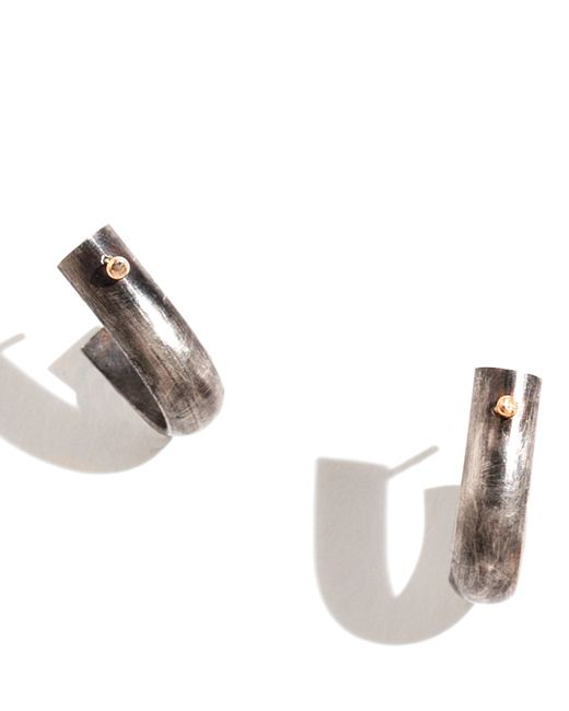 Melissa Joy Manning | Metallic Men's Hook Earrings | Lyst