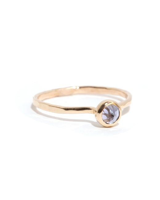 Melissa Joy Manning | Metallic Iolite Ring | Lyst