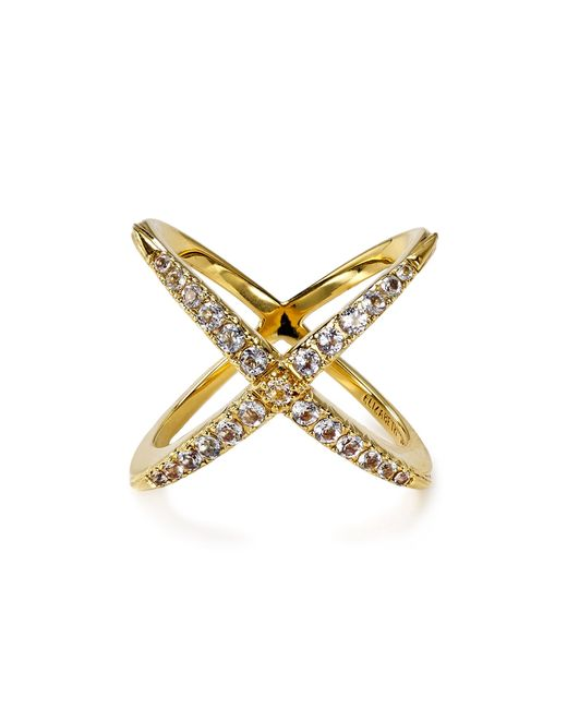 Elizabeth and James | Metallic Northern Star Crossed Ring | Lyst