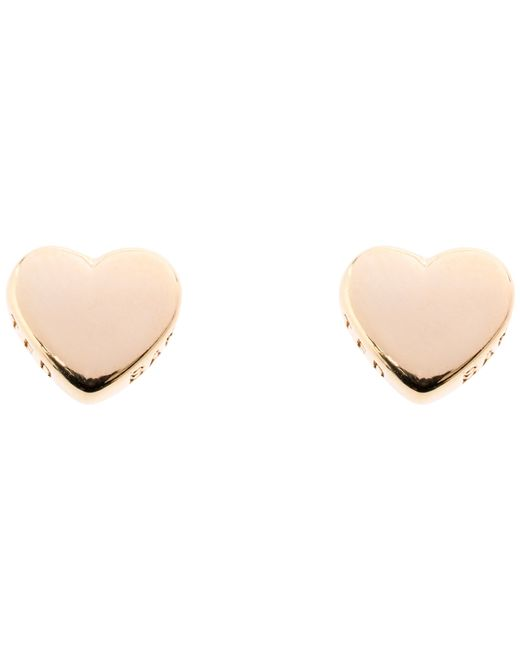 Ted Baker | Metallic Harly Heart Stud Earrings | Lyst