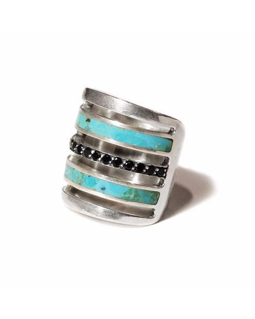 Pamela Love | Metallic Inlay Pave Ring | Lyst