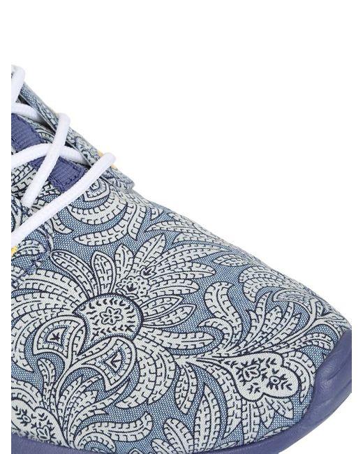 Nike | Blue Liberty Roshe Run Sneakers for Men | Lyst
