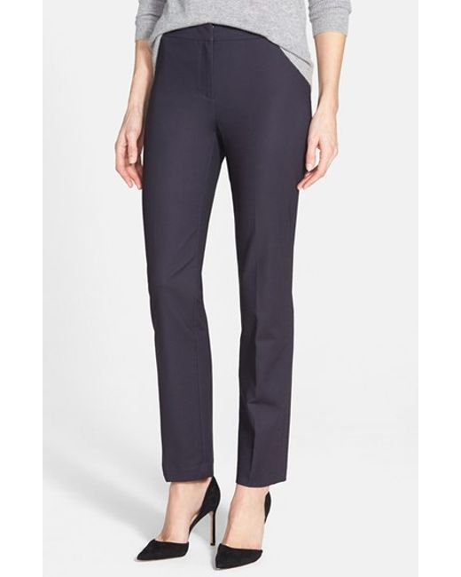 NIC+ZOE | Blue 'the Perfect' Ankle Pants | Lyst