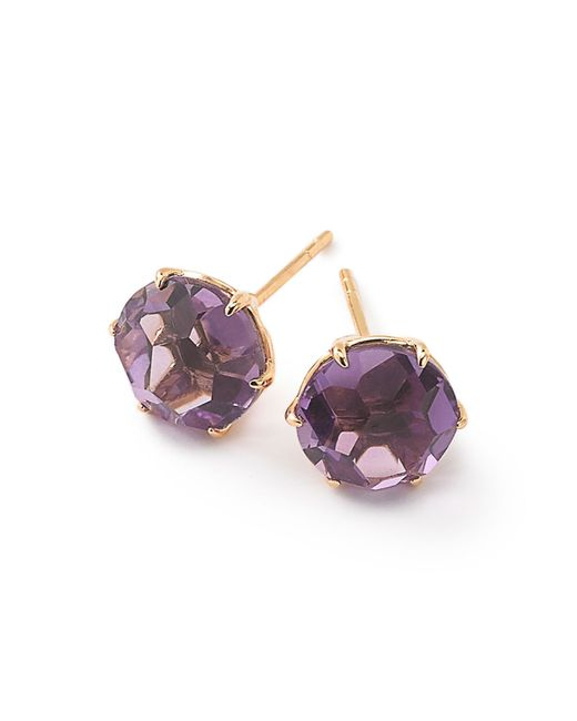 Ippolita | Purple 18k Rock Candy Amethyst Stud Earrings | Lyst
