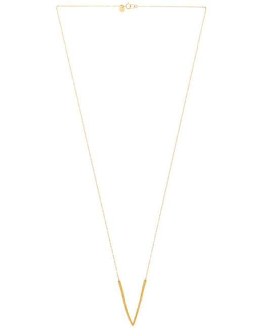 Gorjana | Metallic Taner V Necklace | Lyst