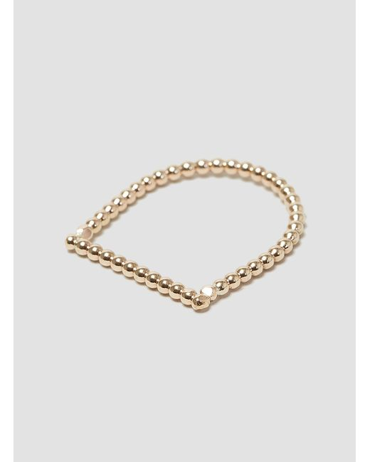 Alice Eden | Metallic U Dot Ring | Lyst