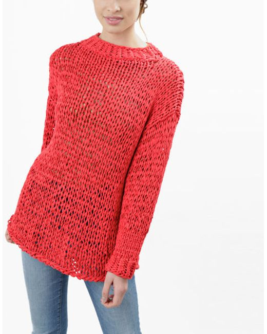 Wool And The Gang | Red Summer Breeze Sweater | Lyst