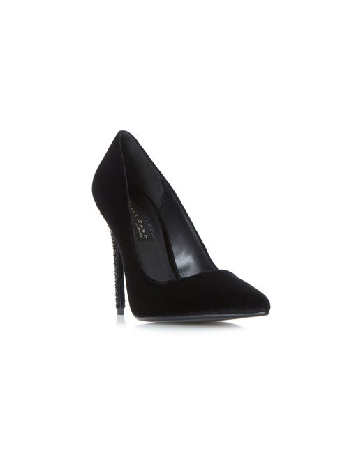 Dune - Black 'bryleigh' Court Shoes - Lyst
