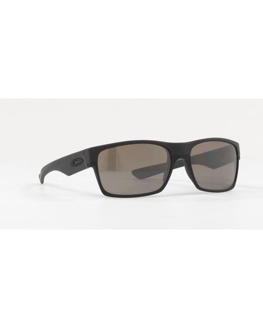 b8da78d10b Oakley - Matte Black  twoface  Square Oo9189 Sunglasses for Men - Lyst ...