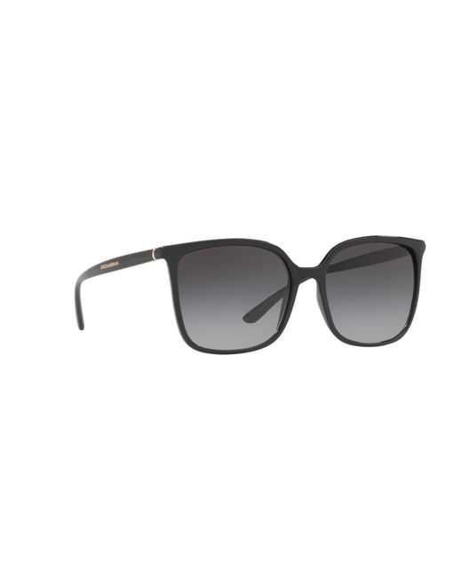 0d66b48c6bd Dolce   Gabbana Black Dg6112 Square Sunglasses in Black - Lyst