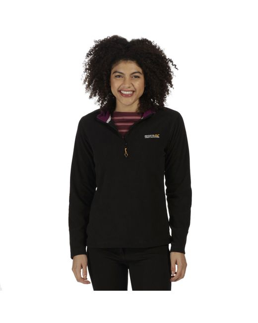 Regatta - Black Sweethart Supersoft Fleece - Lyst