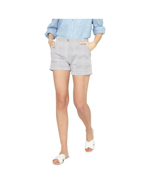 Cheap Sale Good Selling Cheap Marketable Dorothy Perkins Womens Navy Striped Poplin Shorts- Outlet Cost Cheap Pay With Paypal Pre Order Q1Zv6vYN