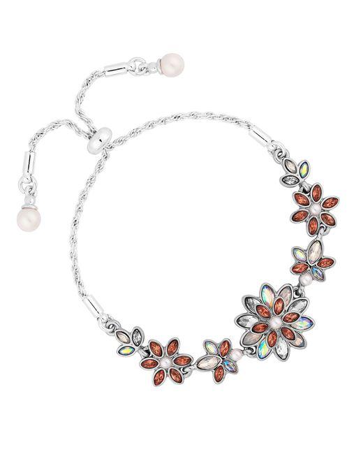 Jenny Packham - Multicolor Designer Floral Toggle Bracelet - Lyst