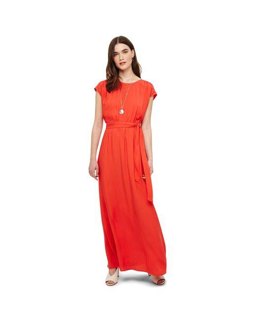 Phase Eight - Orange Heather Maxi Dress - Lyst