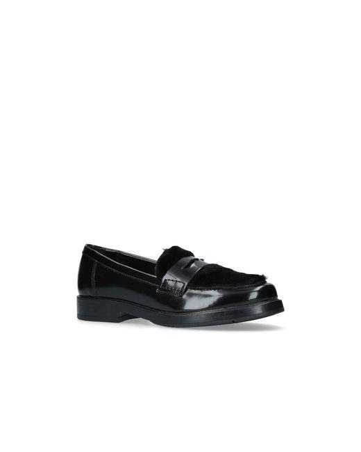 Carvela Kurt Geiger - Black Labrador Flat Slip On Loafers - Lyst