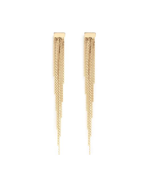 Phase Eight - Metallic Gold Lyla Graduated Drop Earrings - Lyst