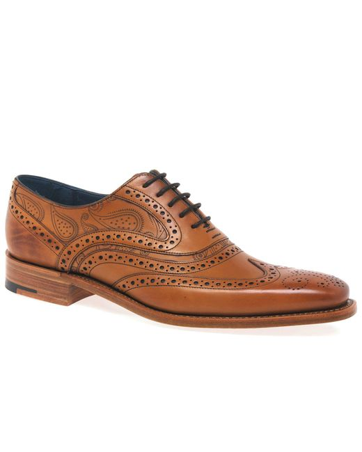 Barker - Brown Tan 'mcclean' Mens Formal Brogues for Men - Lyst