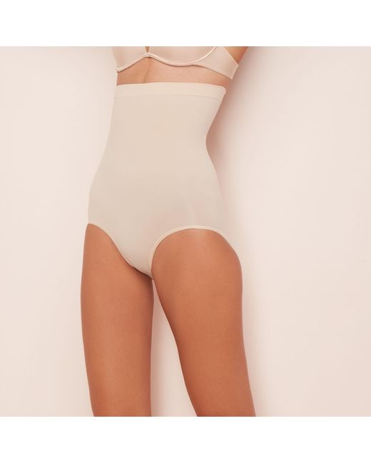 Spanx - Multicolor Nude 'power Series' High-waisted Briefs - Lyst