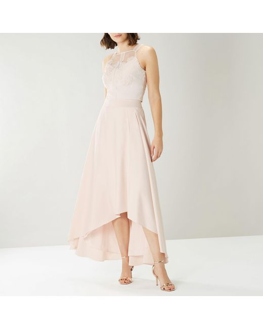 c6372aac4d ... Coast - Pink Blush 'colleen' High-low Skirt - Lyst