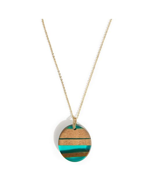 Phase Eight - Green Deena Pendant Necklace - Lyst