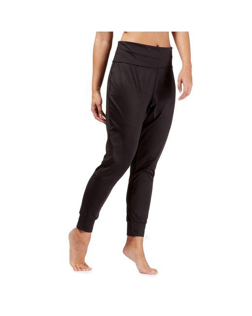 3d7ace1ab72c4 Red Herring Black Yoga Pants in Black - Lyst