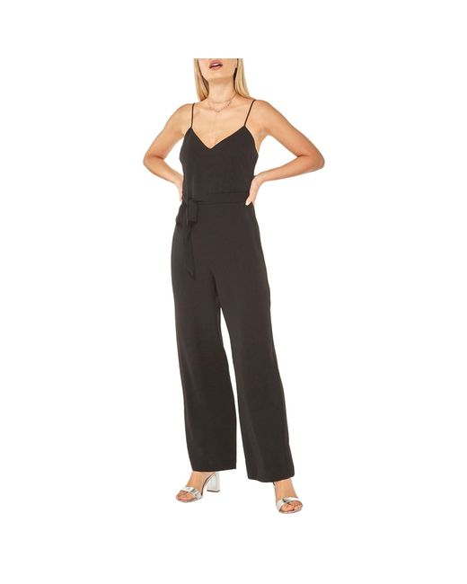 9a939566b3d Dorothy Perkins Black Strappy Jumpsuit in Black - Lyst