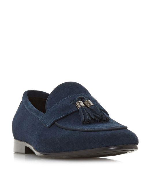Dune - Blue Passengers Tassel Loafers for Men - Lyst