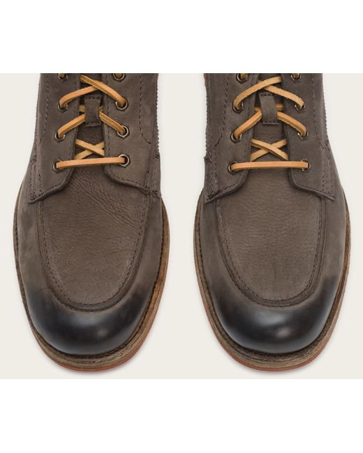 Frye | Gray Phillip Lug Workboot for Men | Lyst
