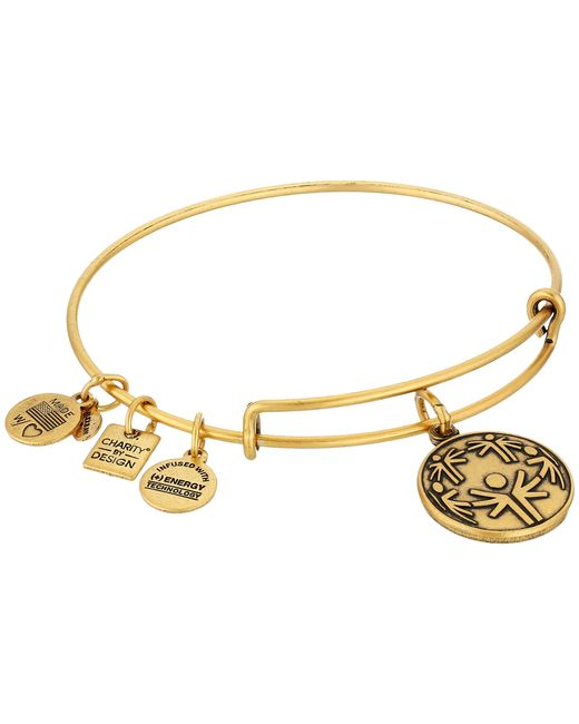 ALEX AND ANI | Metallic Charity By Design - Power Of Unity Bracelet | Lyst