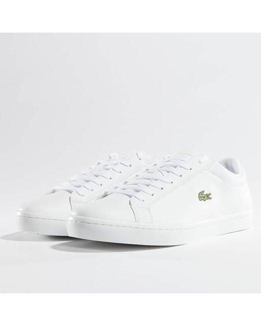 c91cbcda7 Lacoste - White Sneakers Straightset Bl 1 Cam for Men - Lyst ...