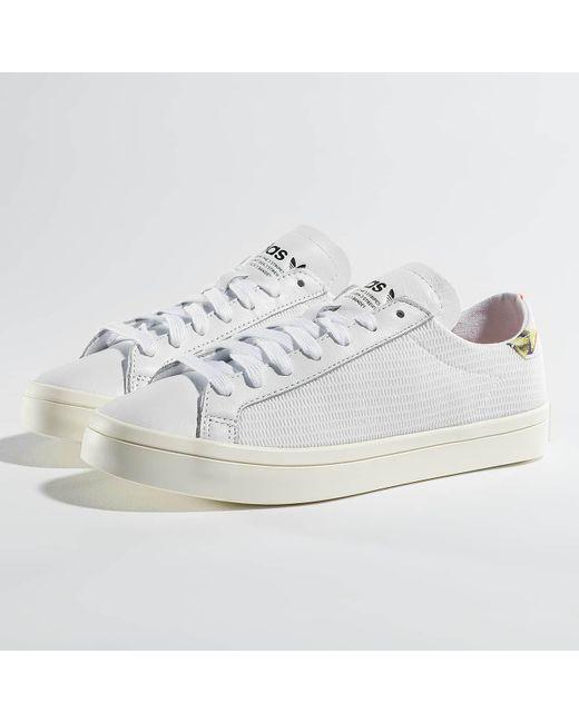 Lyst adidas Originals Wo zapatilla courtvantage W en color blanco para los hombres