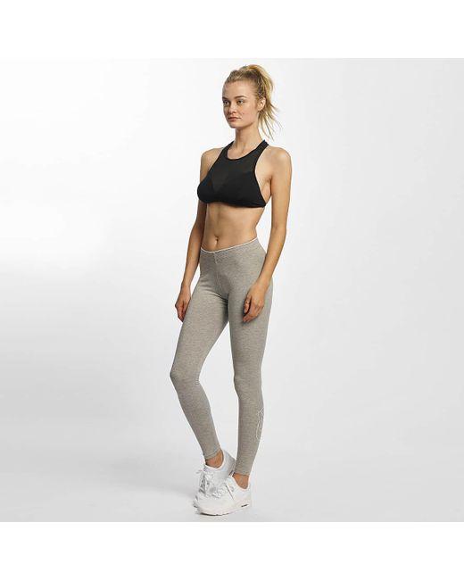 208a0402fdfe3 ... Nike - Gray Wo Legging/tregging Club Futura - Lyst ...