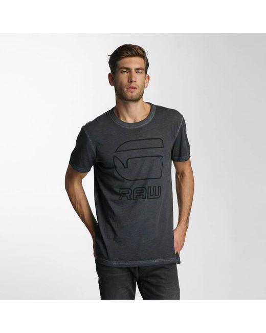 33c1cd527a4 G-Star RAW - Black T-shirt Nact Youn for Men - Lyst ...
