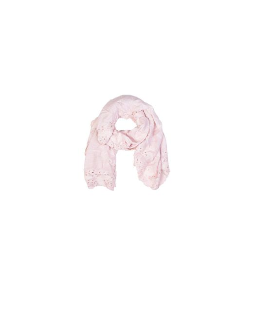 Faliero Sarti | Pink Zamia Scarf With Embroideries | Lyst