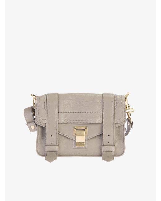 Proenza Schouler - Multicolor Leather Ps1 Mini Crossbody Bag - Lyst