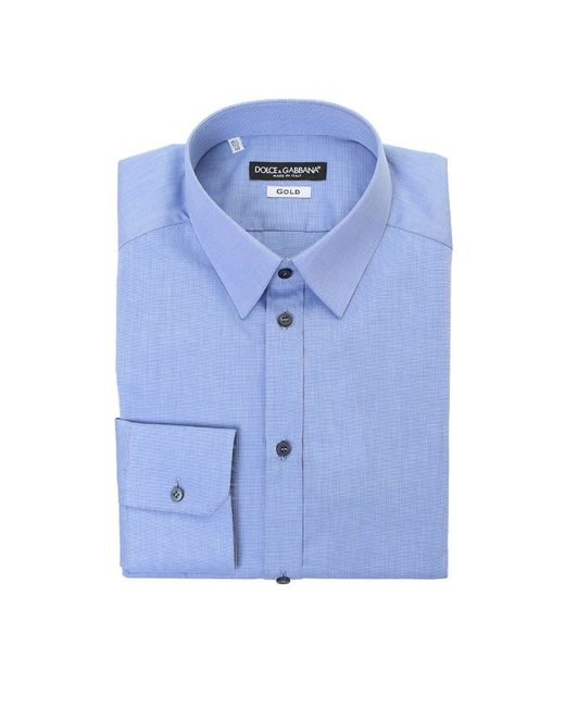 Dolce & Gabbana | Blue Printed Shirt for Men | Lyst