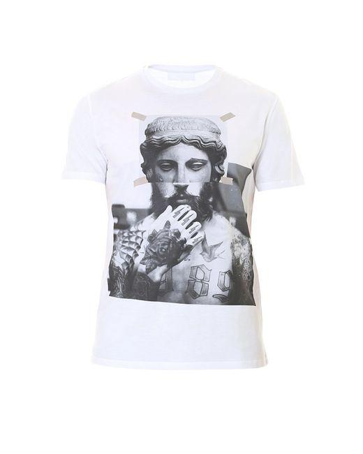 Neil Barrett   White Printed T-shirt for Men   Lyst