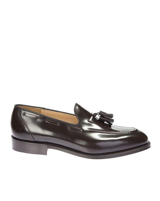 Church's | Brown Leather Moccasin With Tassels for Men | Lyst