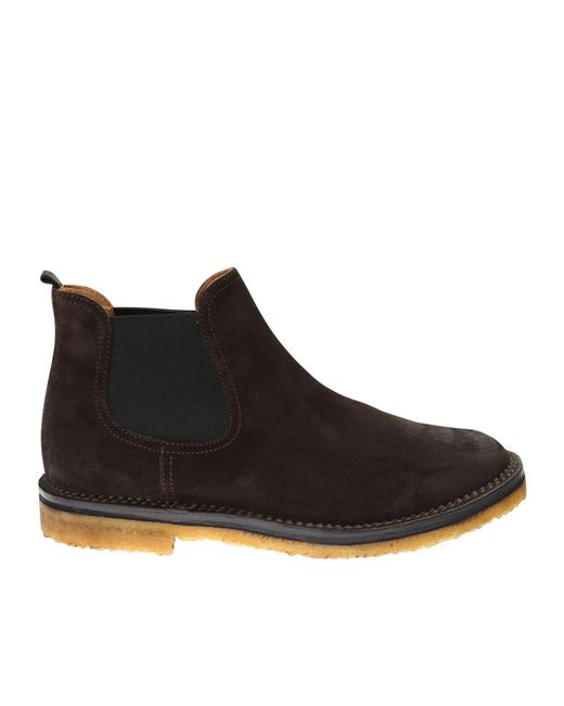 Buttero | Black Beattles Leather Polcco Boots for Men | Lyst
