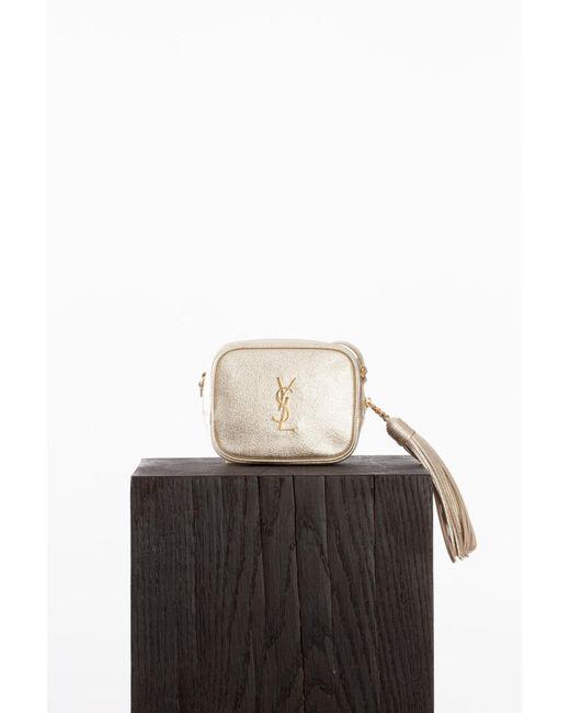 Saint Laurent | Multicolor Platine Blogger Bag | Lyst