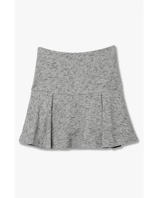 Derek Lam | Gray Flared Skirt | Lyst