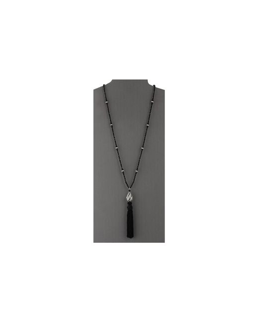Kenneth Jay Lane | Black 8263nbc Necklace | Lyst