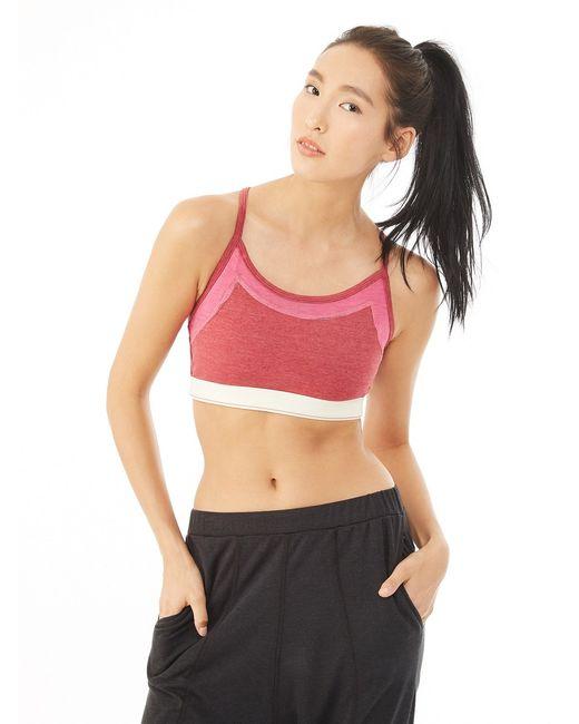 Alternative Apparel | Pink Stretch It Out Eco-lycra Jersey Bra | Lyst