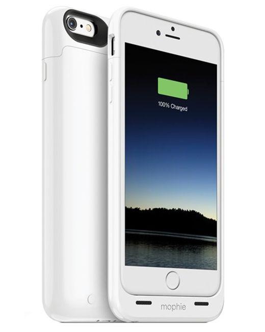 Mophie | White 'juice Pack' Iphone 6 Plus & 6s Plus Charging Case | Lyst
