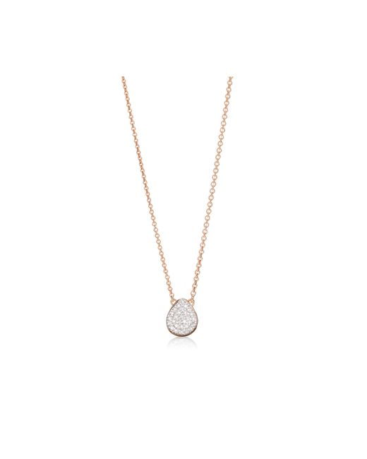 Monica Vinader | Pink Alma Necklace | Lyst